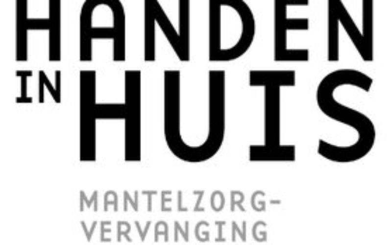 Logo Handen in huis, mantelzorg vervanging
